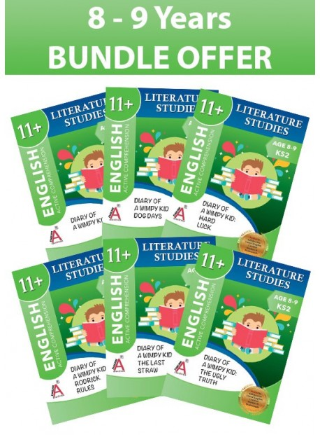 Age 8-9 KS2: Jeff Kinney Bundle